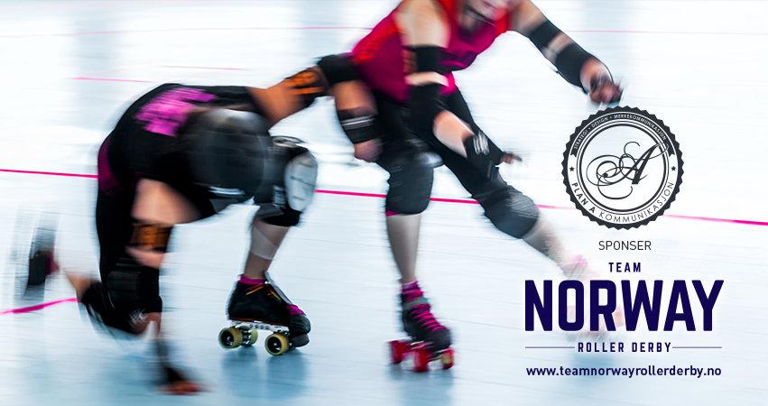 Plan A Kommunikasjon Er Stolt Sponsor Av Det Norske Landslaget I Roller Derby